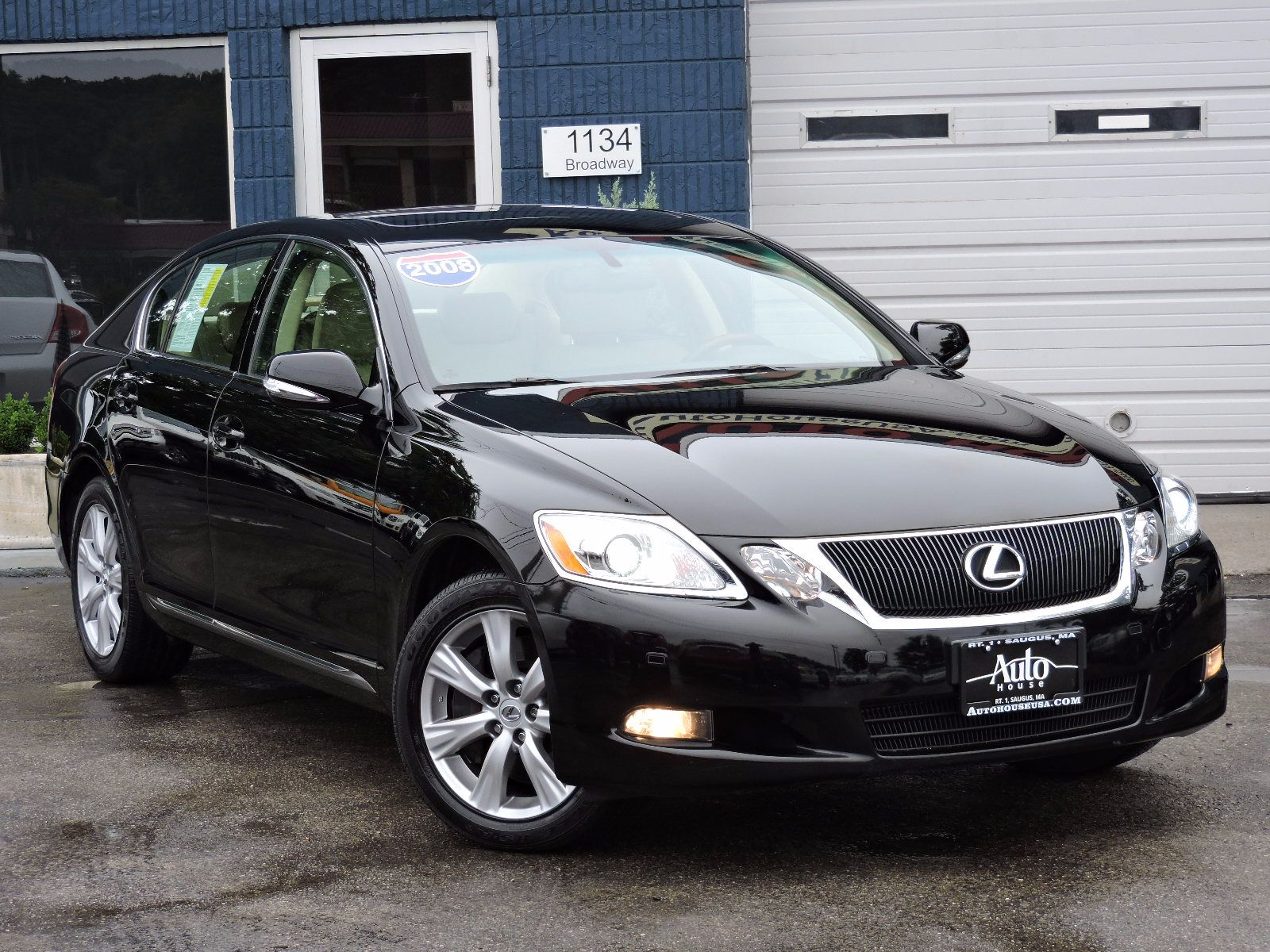 used 2008 lexus gs 350 ltz at auto house usa saugus. Black Bedroom Furniture Sets. Home Design Ideas