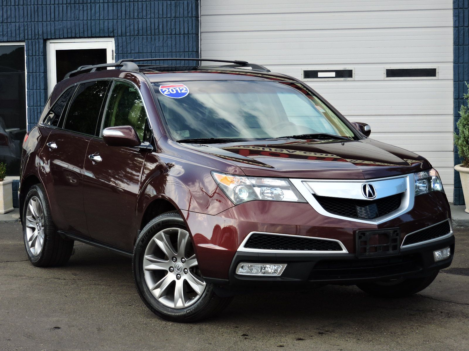 used 2012 acura mdx advanceentertainment pkg at auto house usa saugus. Black Bedroom Furniture Sets. Home Design Ideas