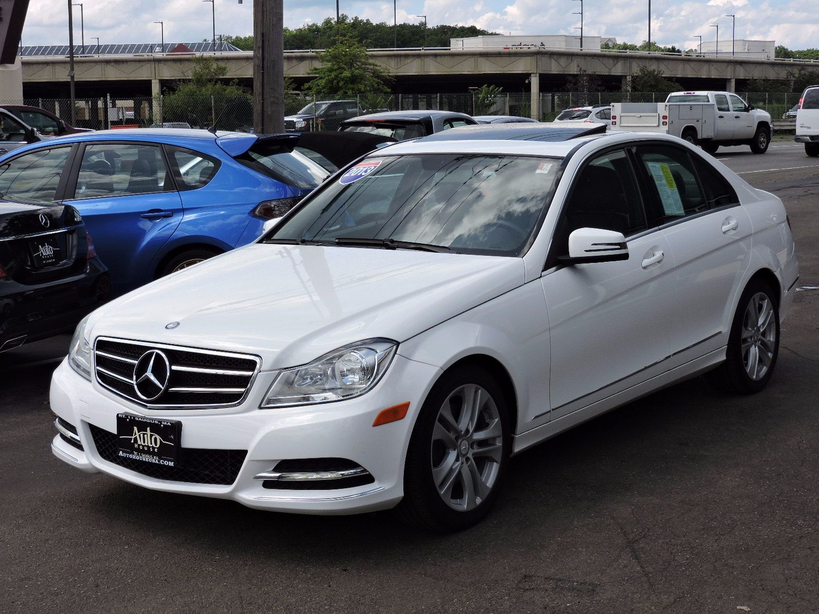 used 2013 mercedes benz c300 c 300 luxury at auto house usa saugus. Black Bedroom Furniture Sets. Home Design Ideas
