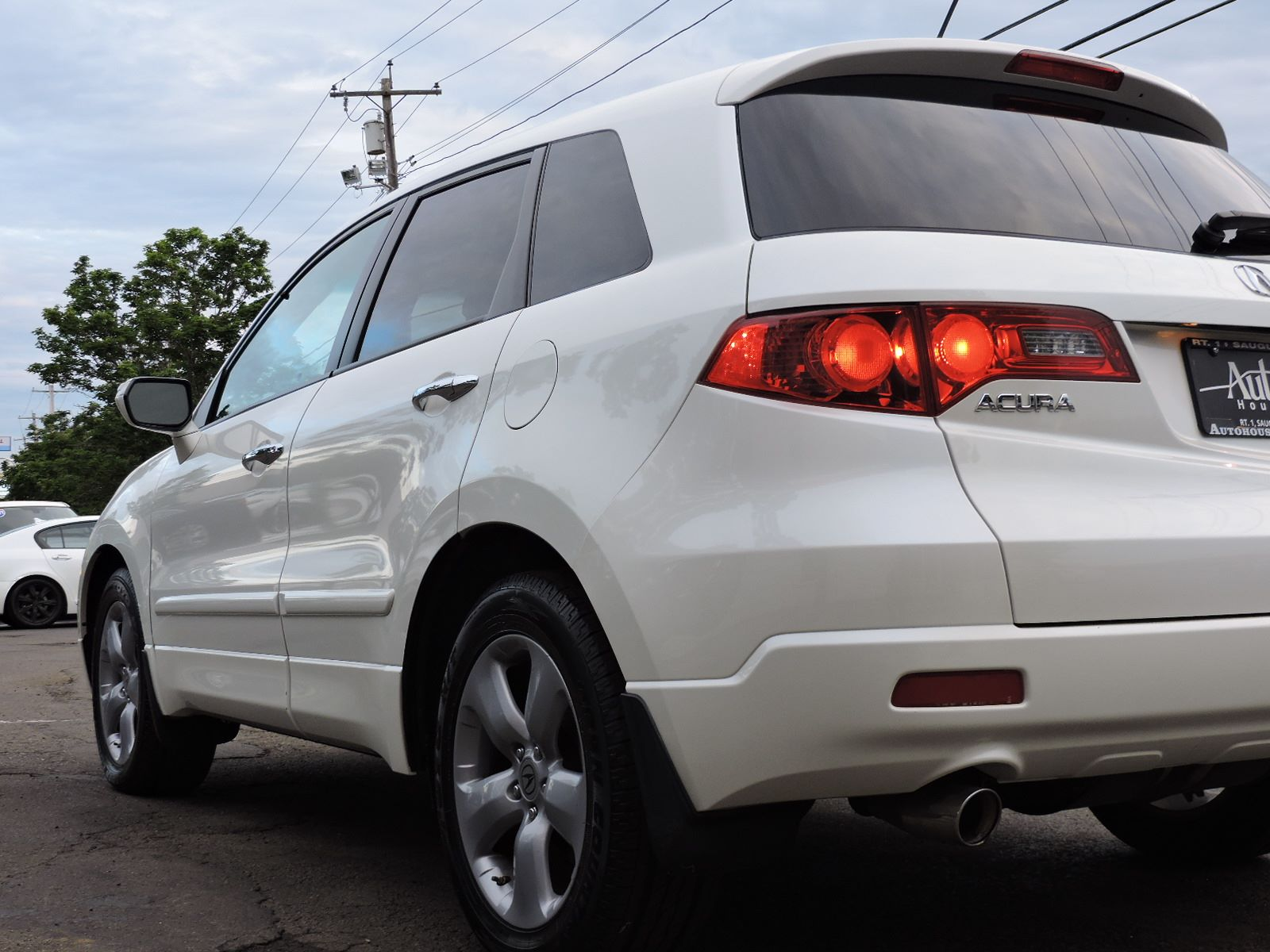 2009 acura rdx all wheel drive technology package navigation