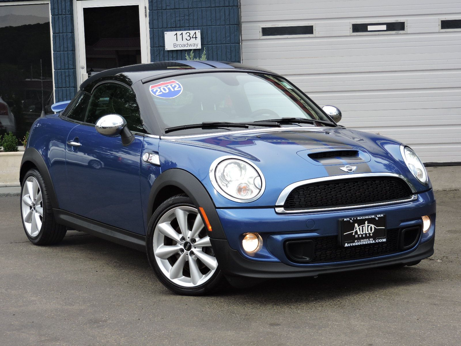 used 2012 mini cooper coupe s at auto house usa saugus. Black Bedroom Furniture Sets. Home Design Ideas