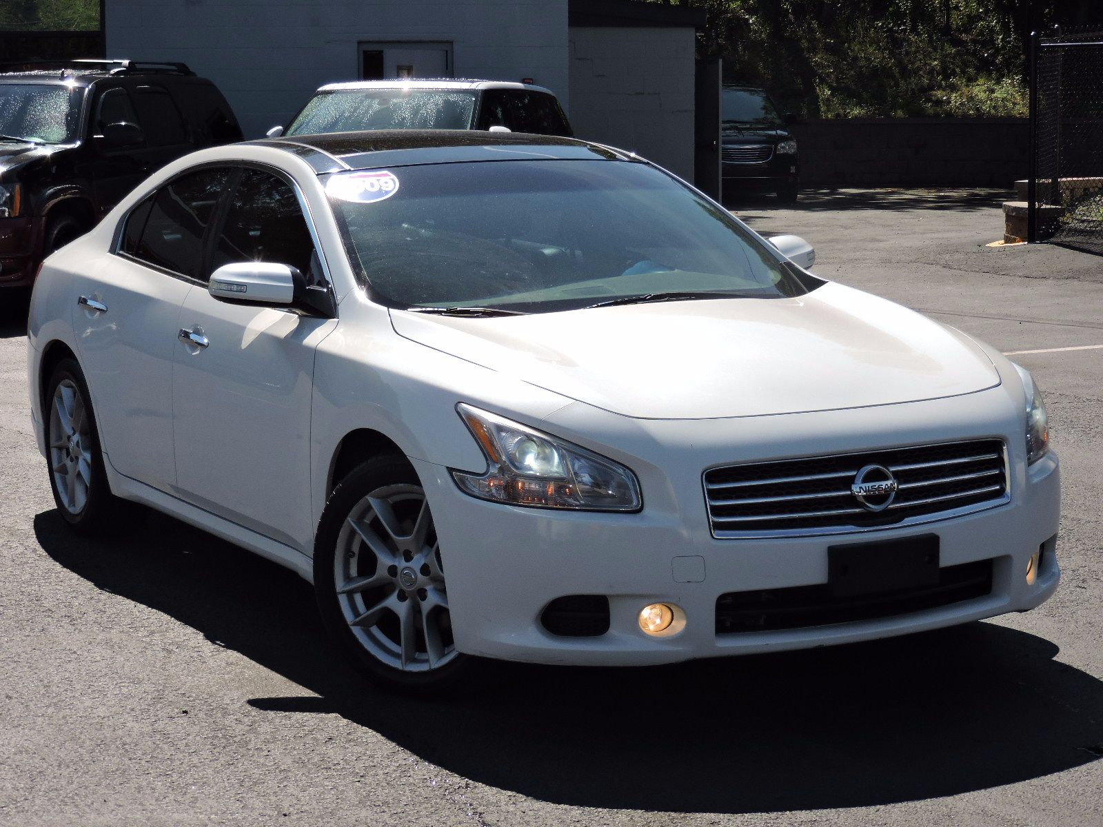 Used 2009 Nissan Maxima 3 5 Sv Wpremium Pkg At Auto House