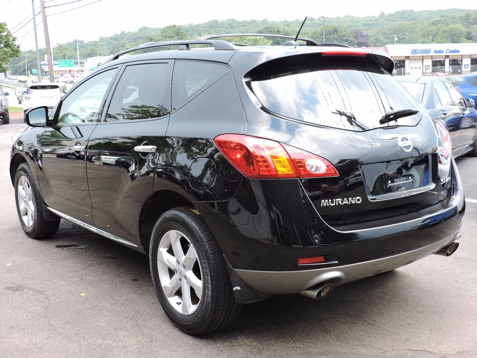 used 2009 nissan murano sl at auto house usa saugus. Black Bedroom Furniture Sets. Home Design Ideas