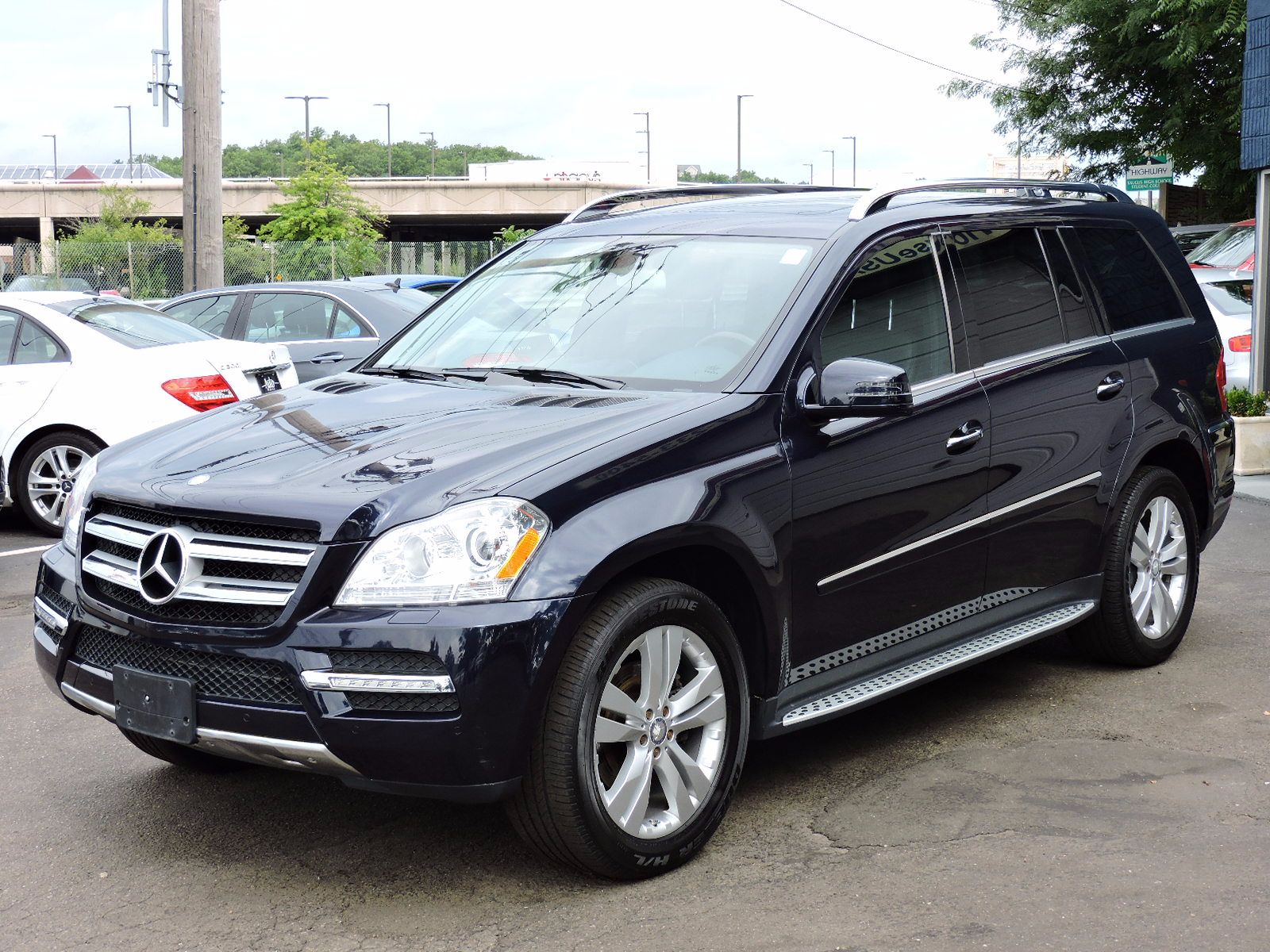 Used 2012 mercedes benz gl 450 techentertainment pkg at for 2012 mercedes benz gl class