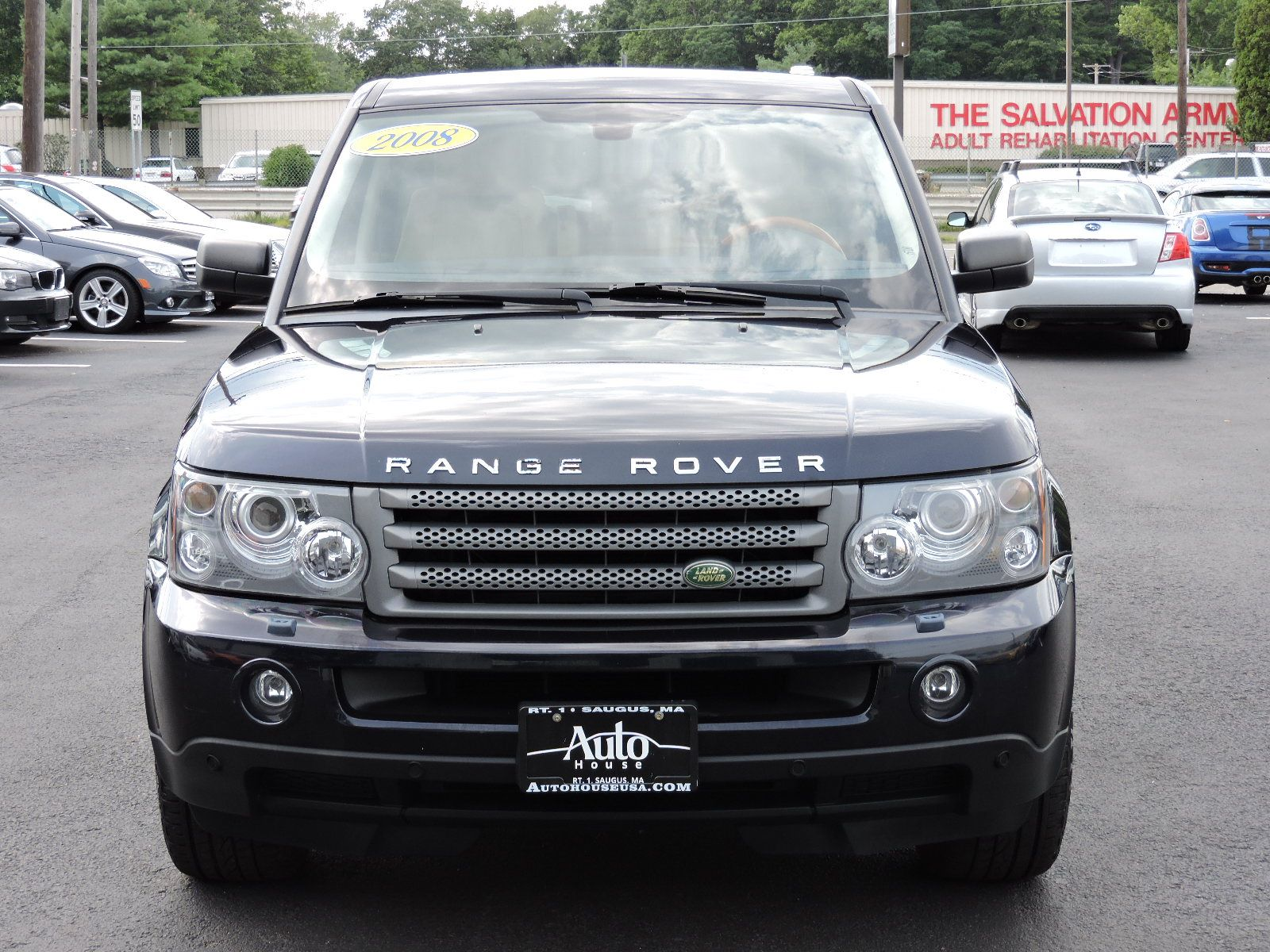2008 Land Rover Range Rover Sport - All Wheel Drive - Navigation