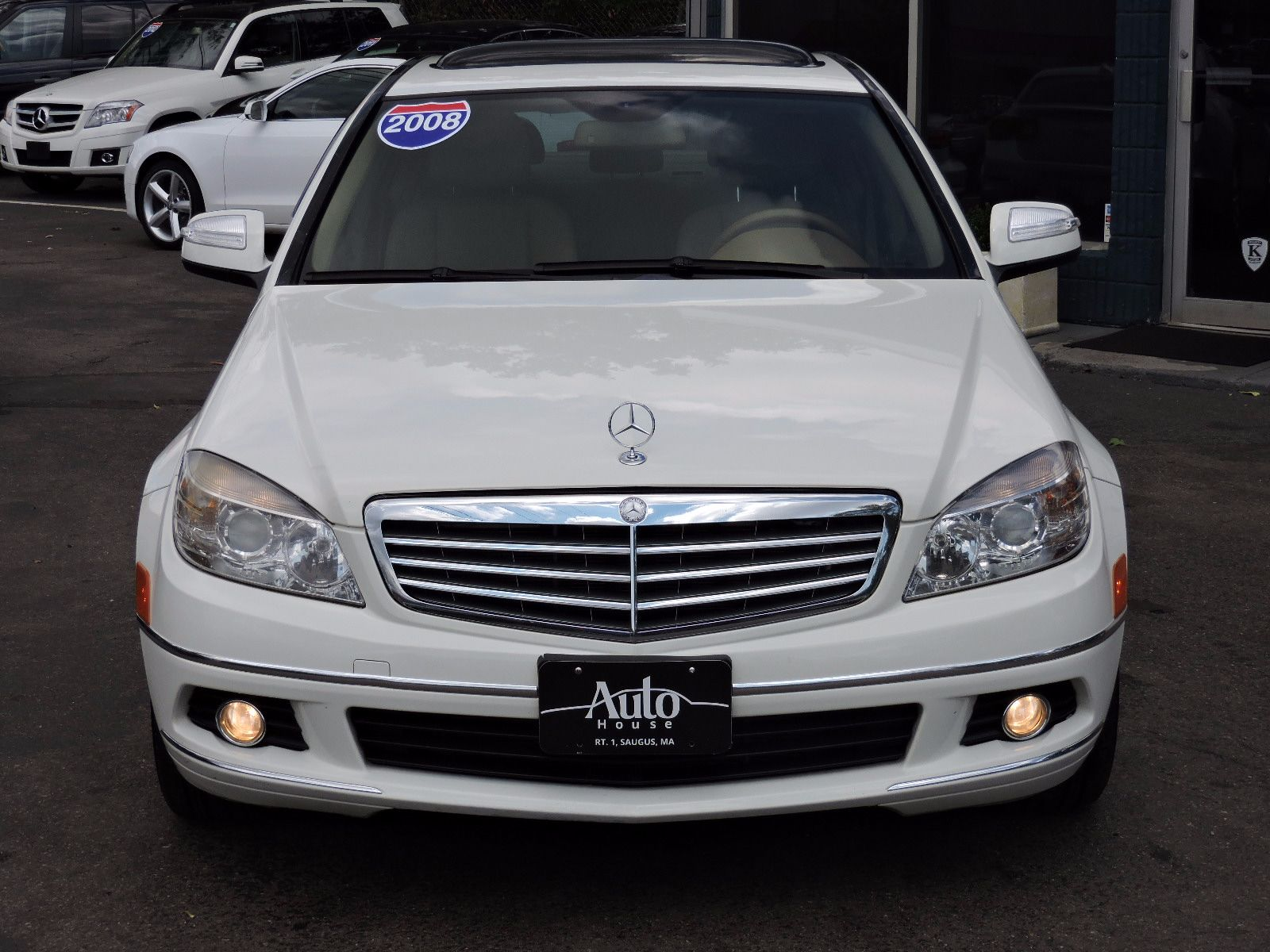used 2008 mercedes benz c300 3 0l luxury at auto house usa saugus. Black Bedroom Furniture Sets. Home Design Ideas