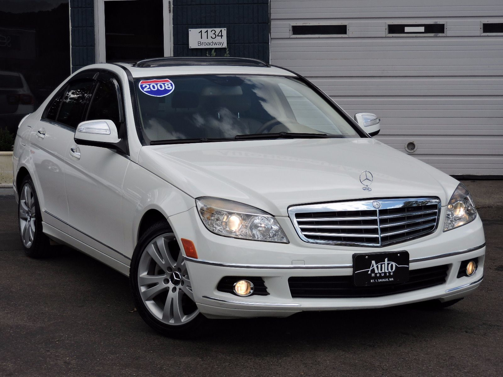 Used 2008 mercedes benz c300 3 0l luxury at auto house usa for Mercedes benz c300 rims