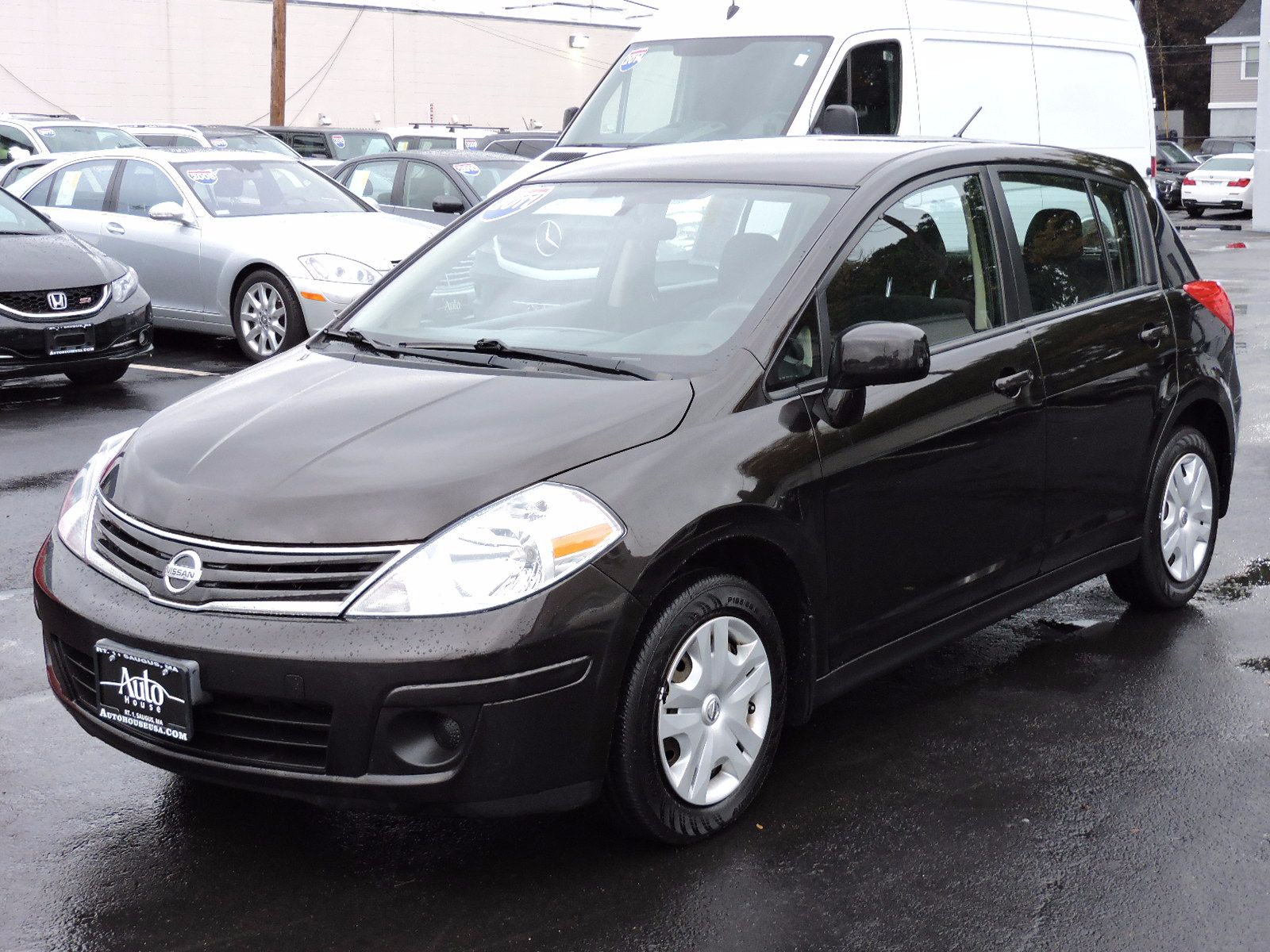 used 2011 nissan versa 1 8 s at auto house usa saugus. Black Bedroom Furniture Sets. Home Design Ideas
