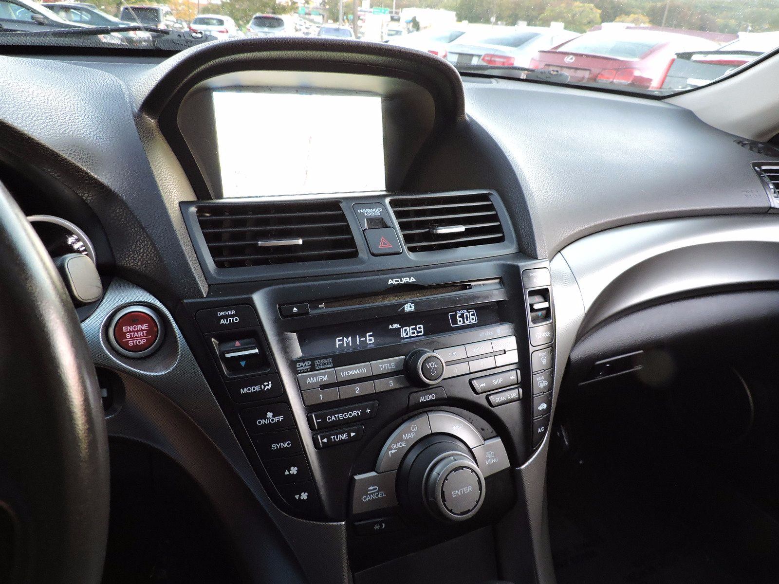 2010 Acura TL Navigation - Technology Package