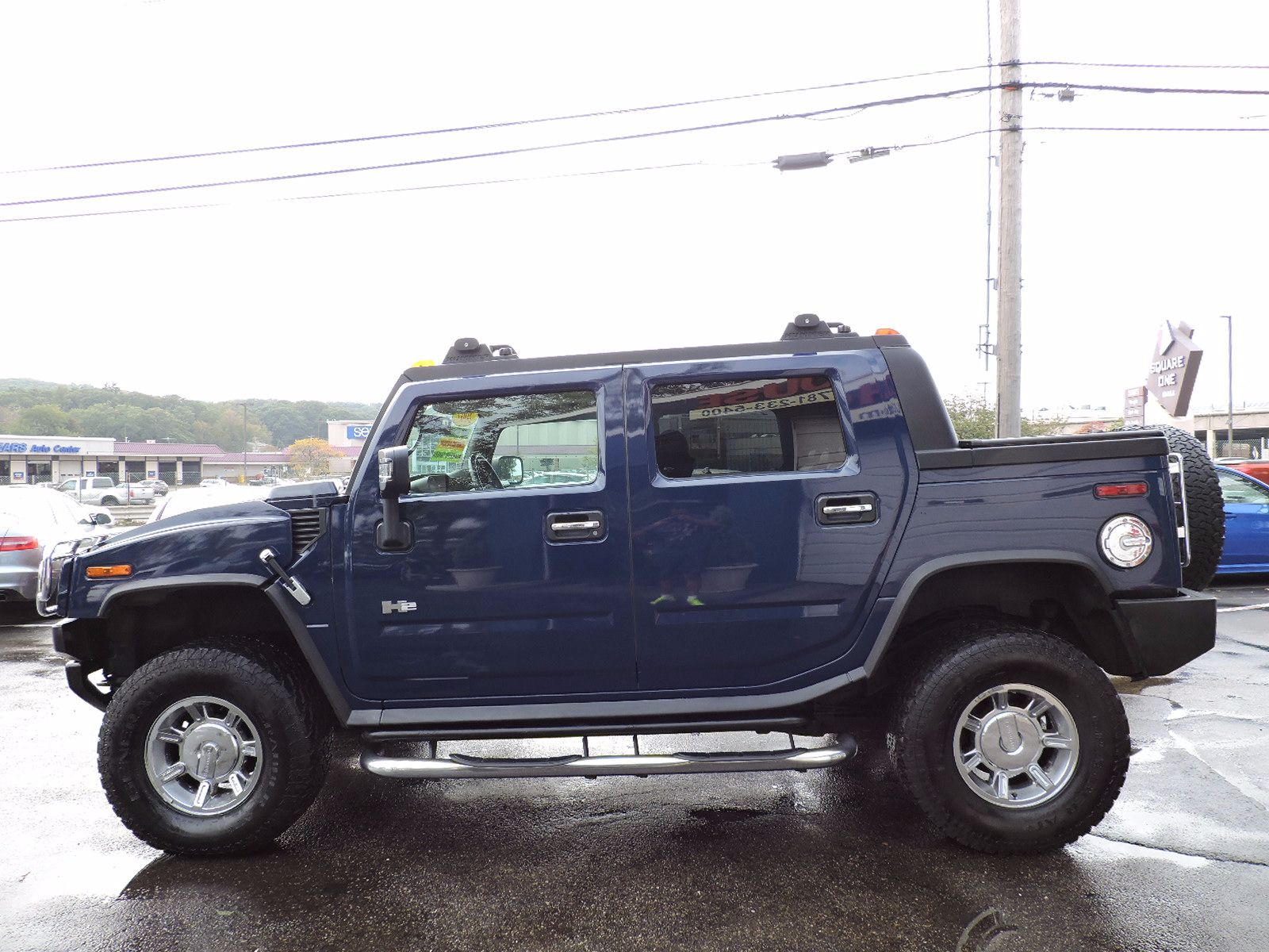 2007 HUMMER H2 - All Wheel Drive - Navigation
