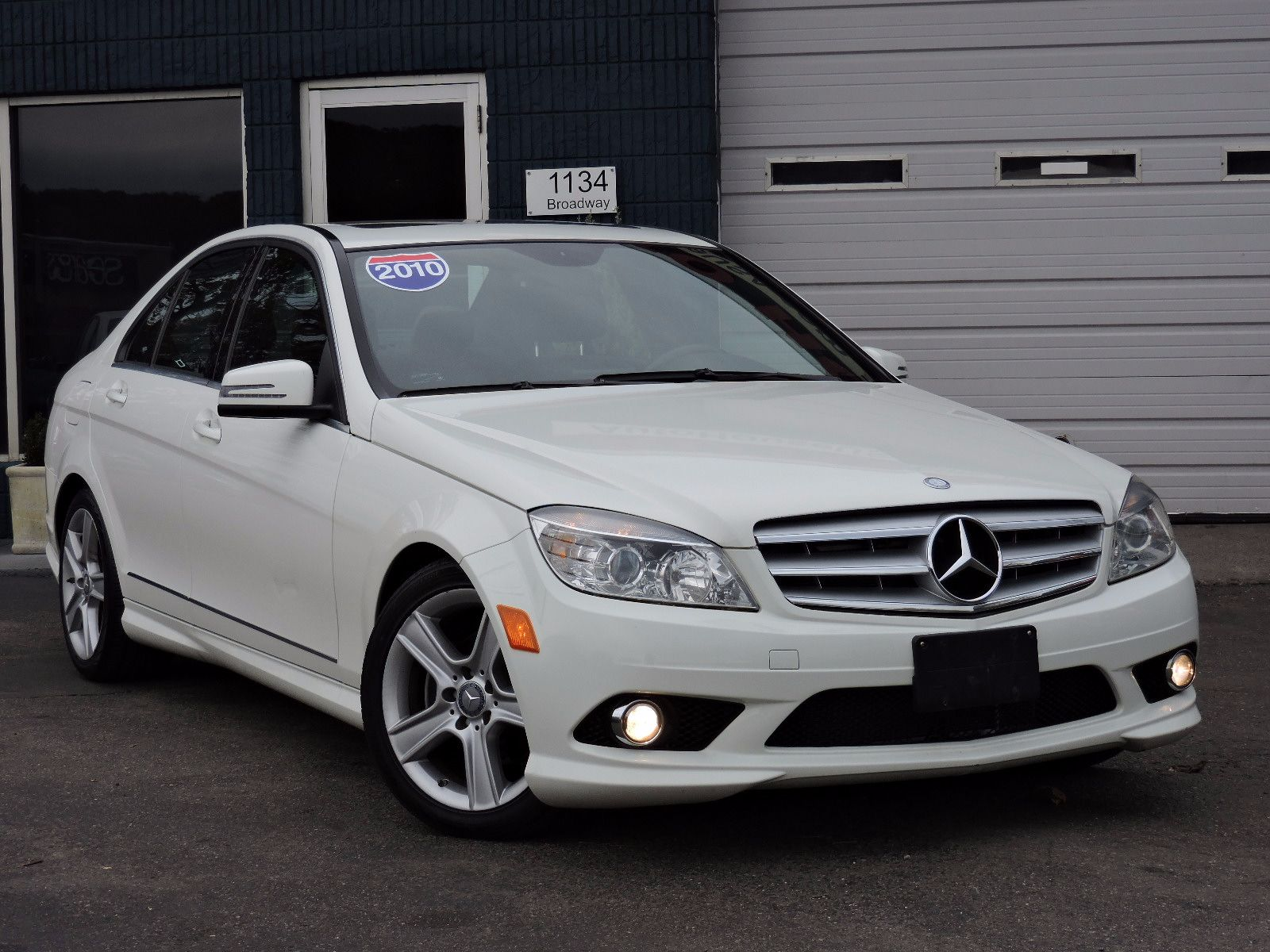 used 2010 mercedes benz c 300 c 300 sport at auto house usa saugus. Black Bedroom Furniture Sets. Home Design Ideas