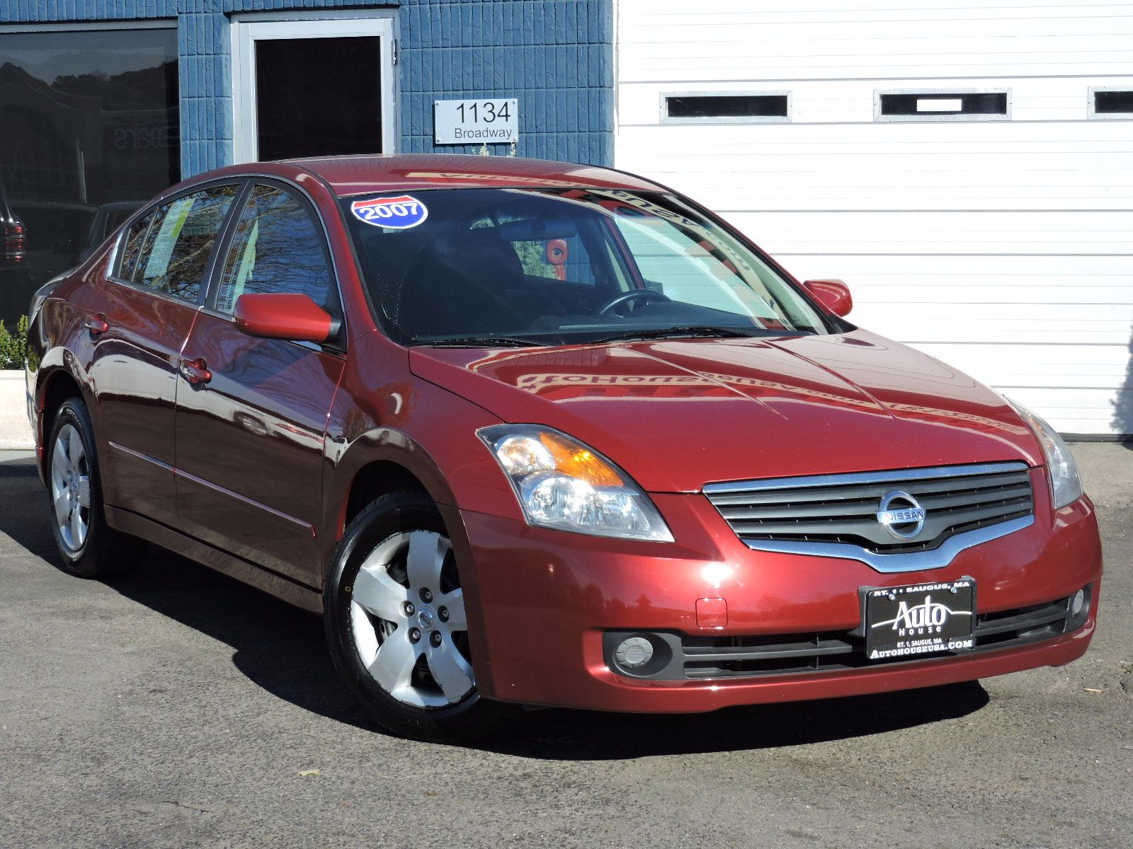 used 2007 nissan altima 2 5 s at auto house usa saugus. Black Bedroom Furniture Sets. Home Design Ideas
