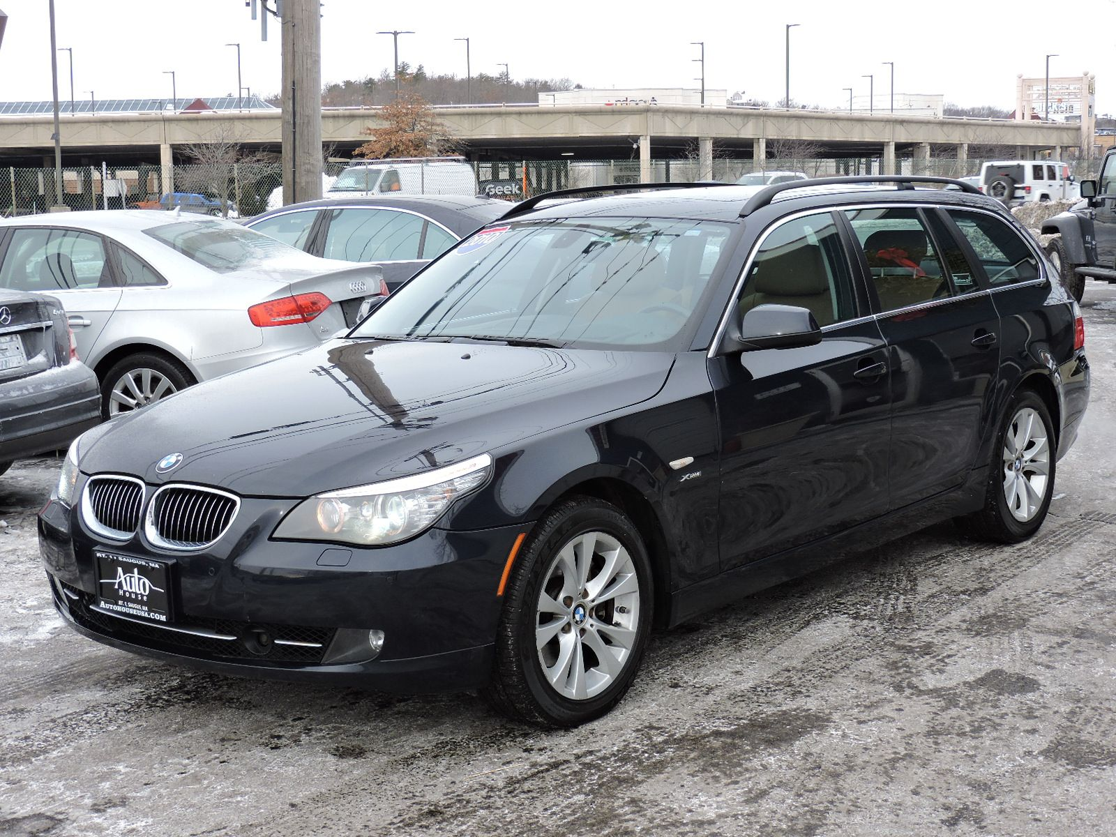 used 2010 bmw 5 series 535i xdrive at auto house usa saugus. Black Bedroom Furniture Sets. Home Design Ideas