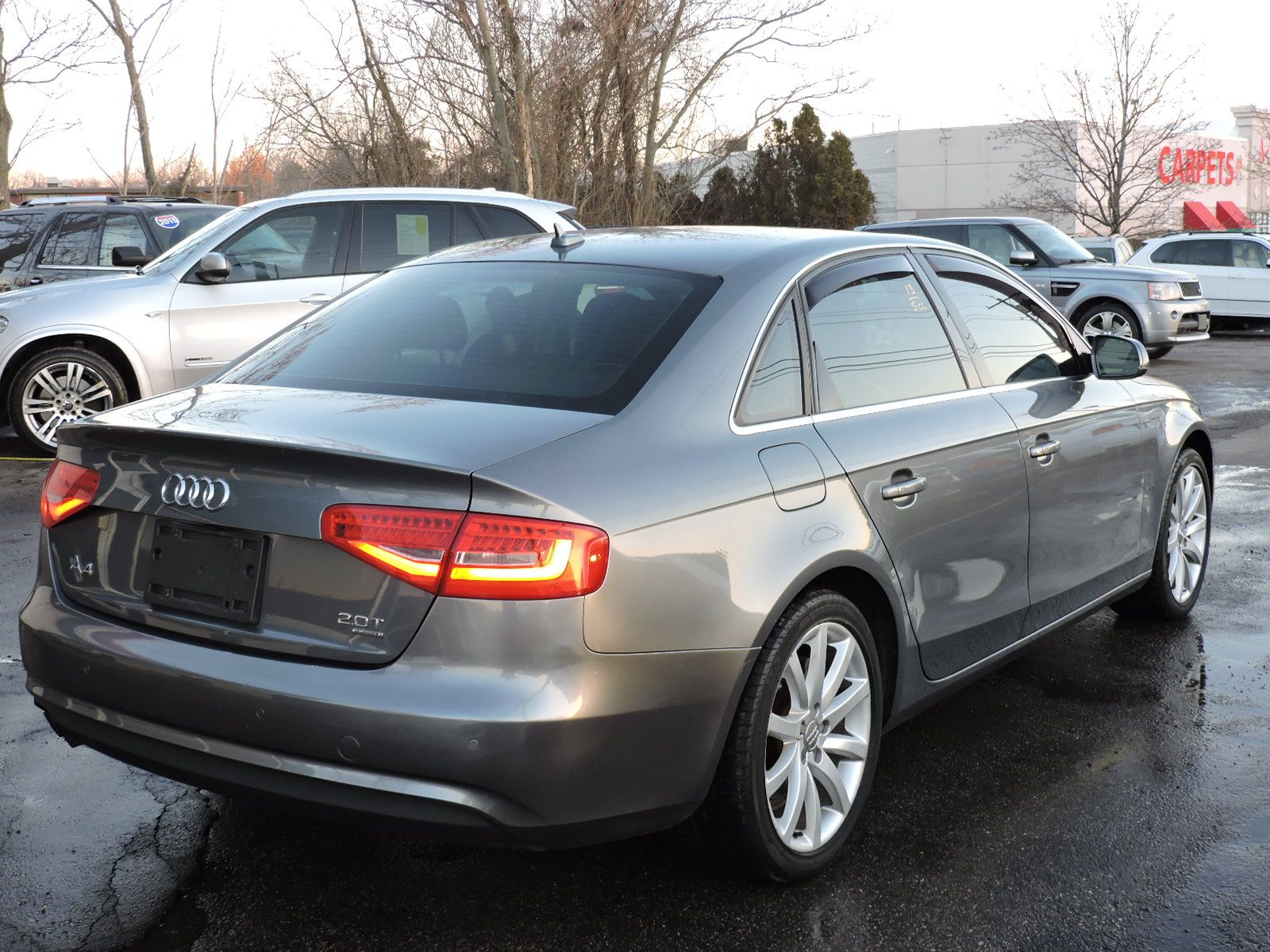 2013 Audi A4 2.0T 6 Speed Quattro Premium Plus AWD