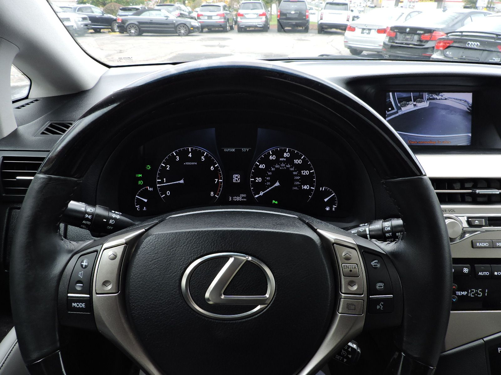 2013 Lexus RX 350 AWD - Low Mileage
