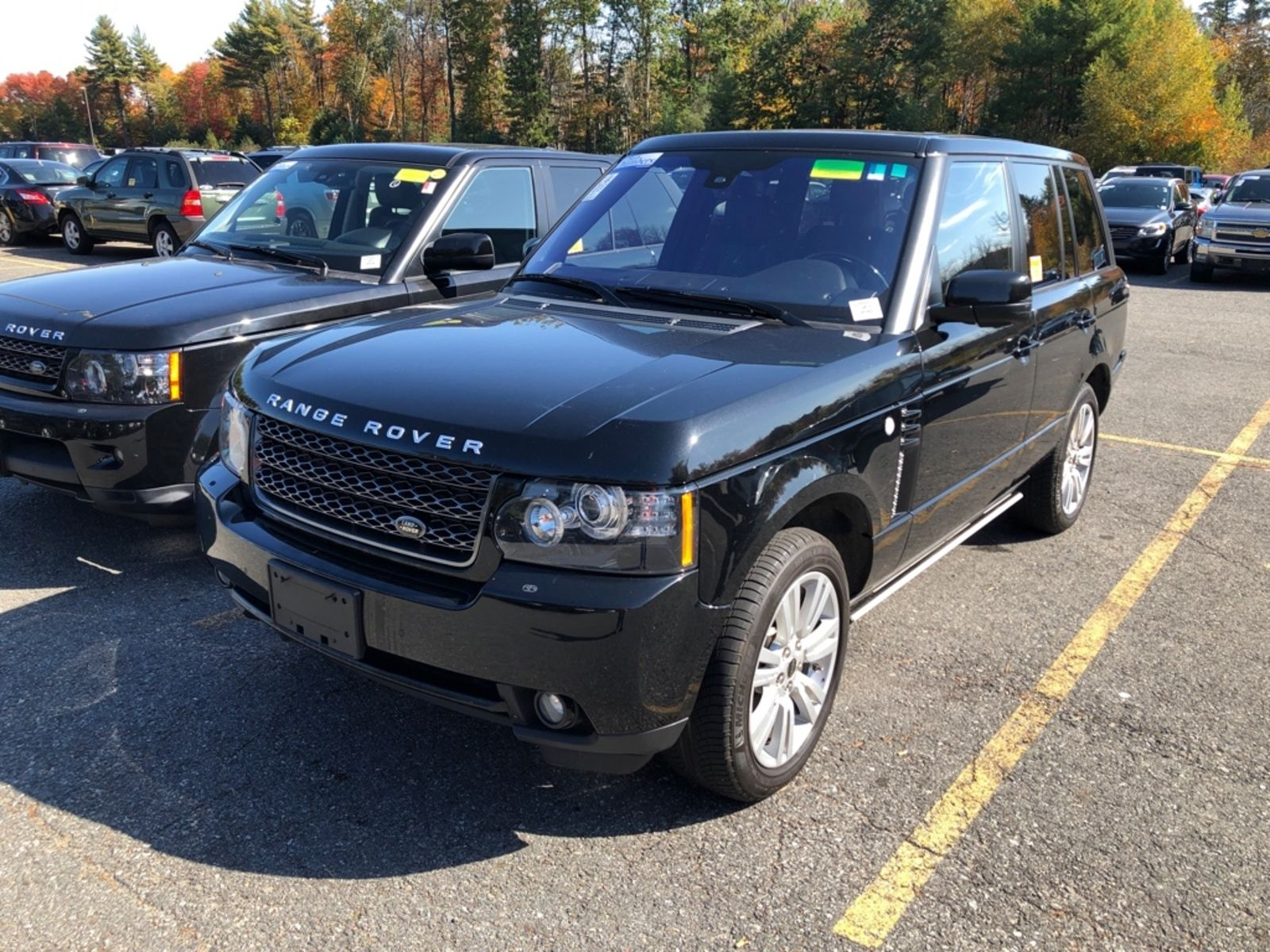 2012 Land Rover Range Rover HSE LUXURY 4WD
