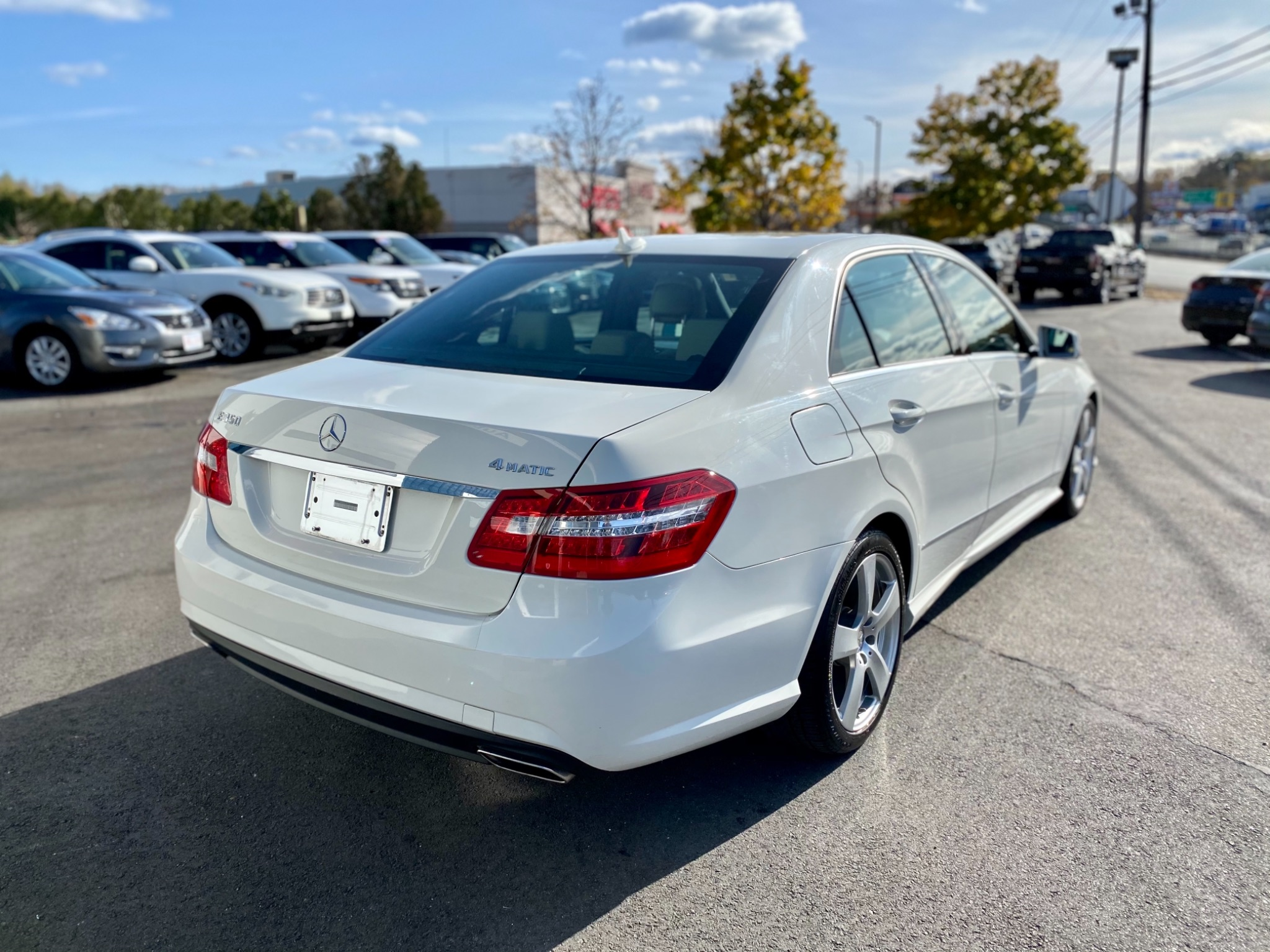 2011 Mercedes-Benz E 350 4MATIC Sport