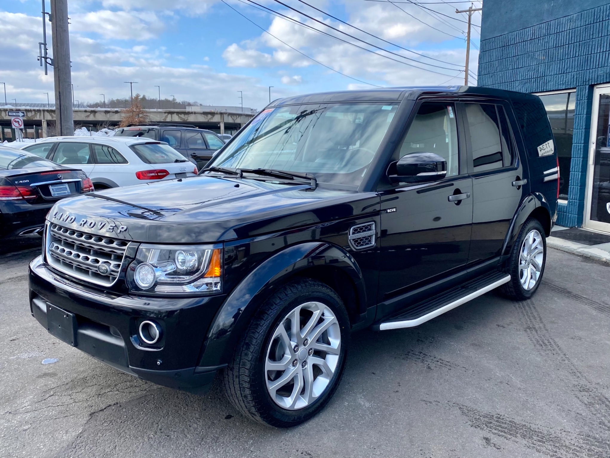 2016 Land Rover LR4 HSE Silver Edition
