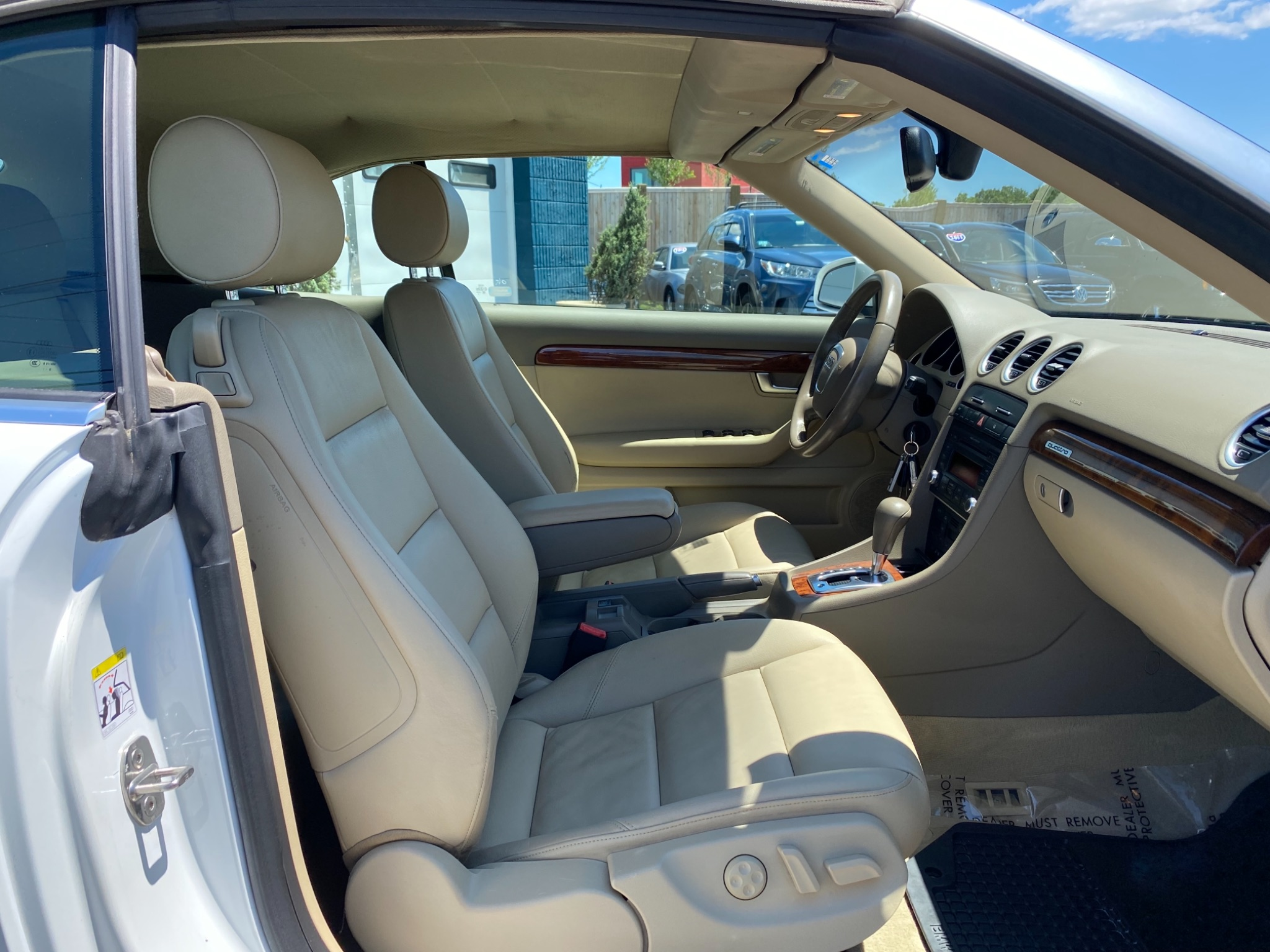 2009 Audi A4 S Line AWD Convertible